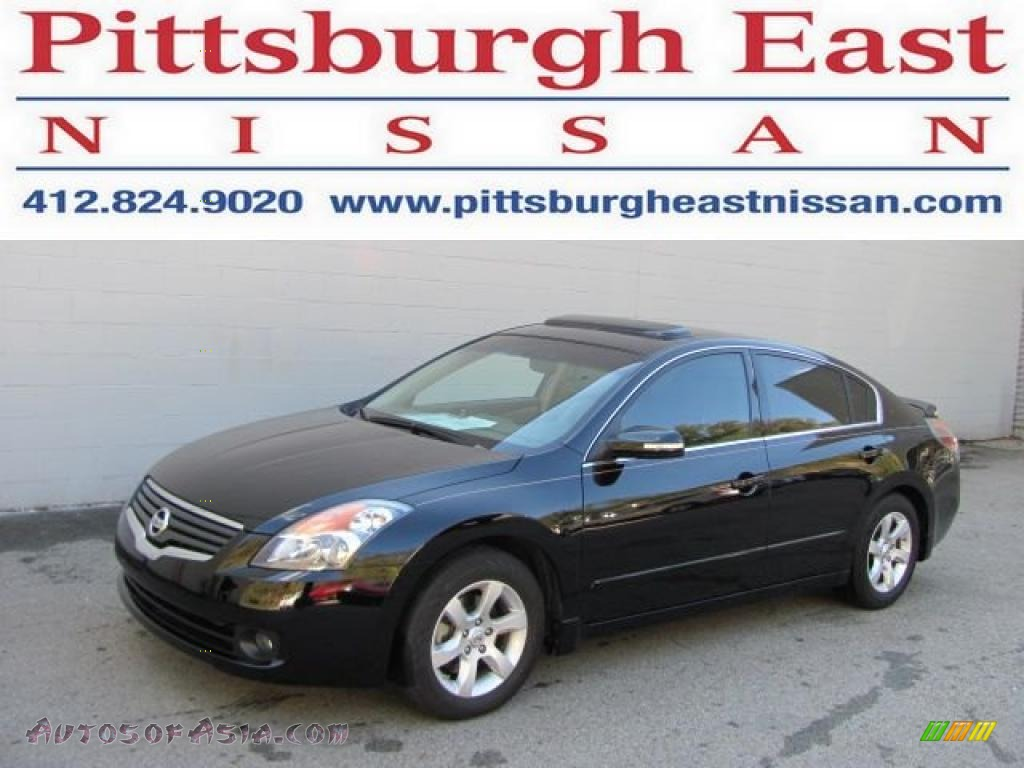 2007 nissan altima 3 5 sl in super black 485313 autos of asia japanese and korean cars for. Black Bedroom Furniture Sets. Home Design Ideas
