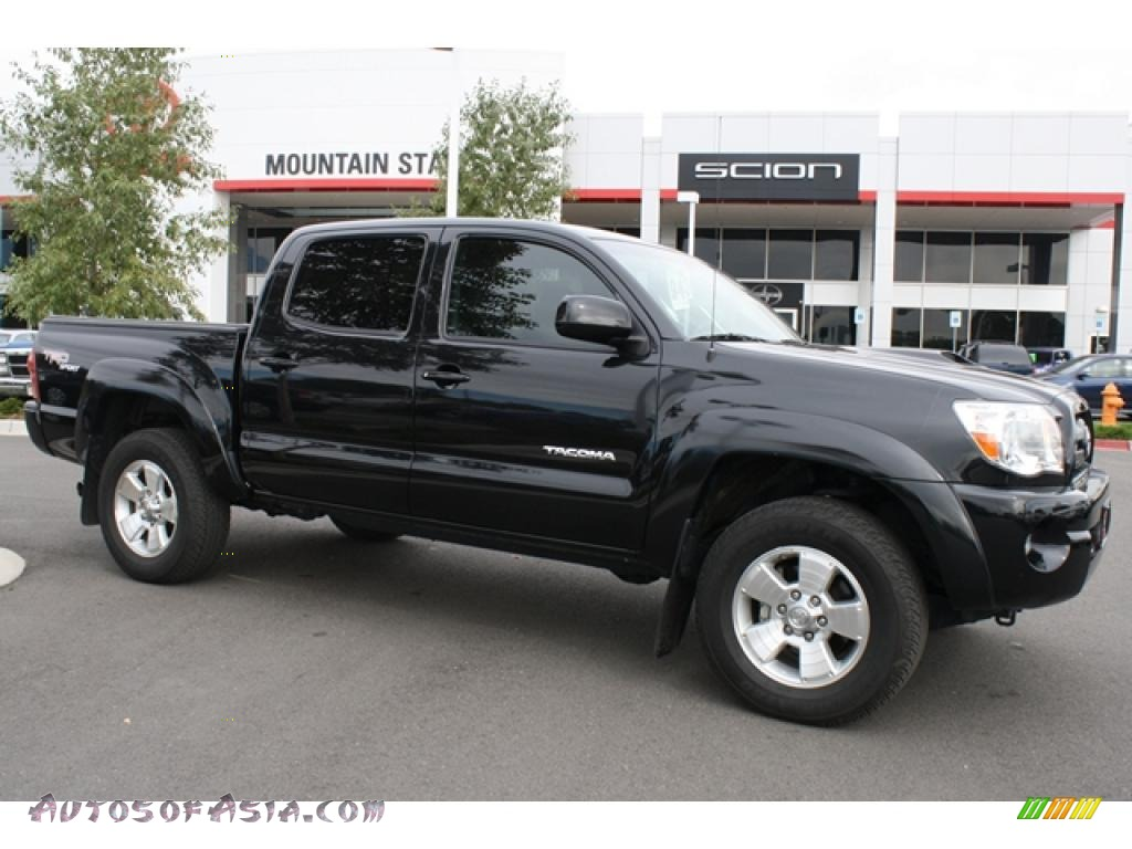 2008 toyota tacoma v6 trd sport double cab 4x4 in black sand pearl 479532 autos of asia. Black Bedroom Furniture Sets. Home Design Ideas