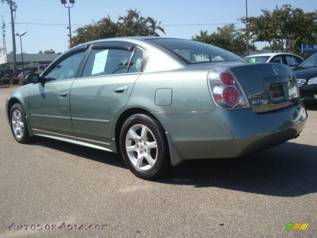 2005 Nissan Altima 2 5 S In Mystic Emerald Green Photo 4