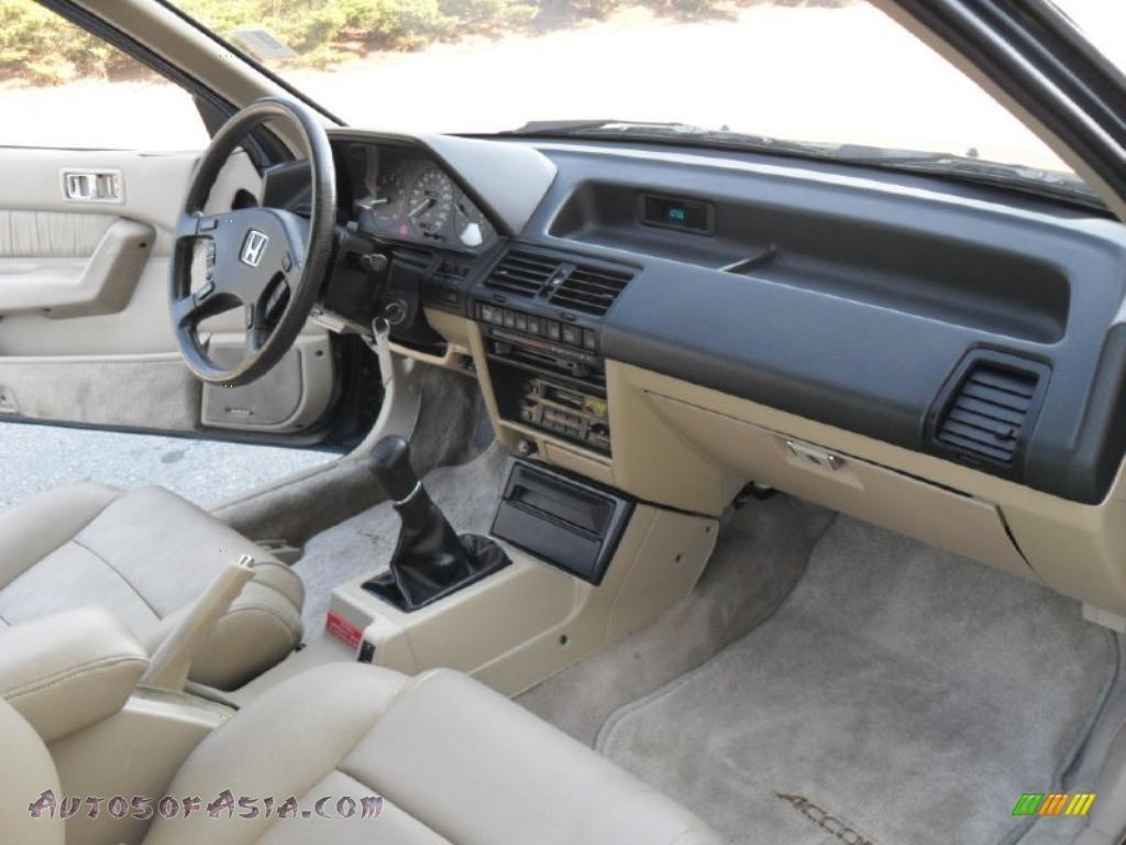 1989 Honda Accord SEi Coupe in Brittany Blue Green ...