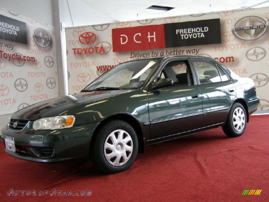 2002 toyota corolla le in woodland pearl 582876 autos for Woodland motors used cars