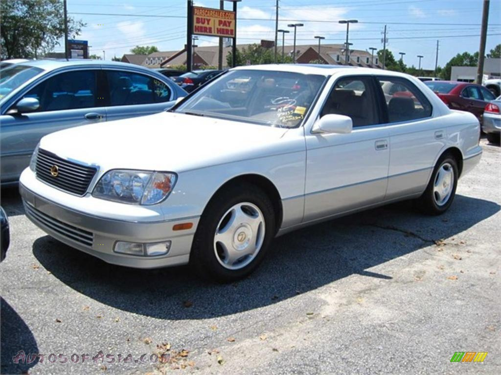 1999 Lexus LS 400 in Diamond White Pearl - 143534 | Autos of Asia - Japanese and Korean Cars for ...