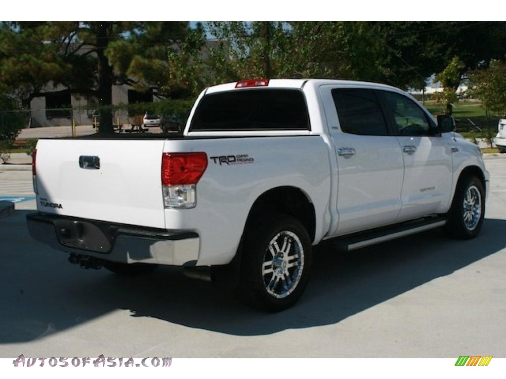 2010 toyota tundra trd crewmax in super white photo 12 088050 autos of asia japanese and. Black Bedroom Furniture Sets. Home Design Ideas
