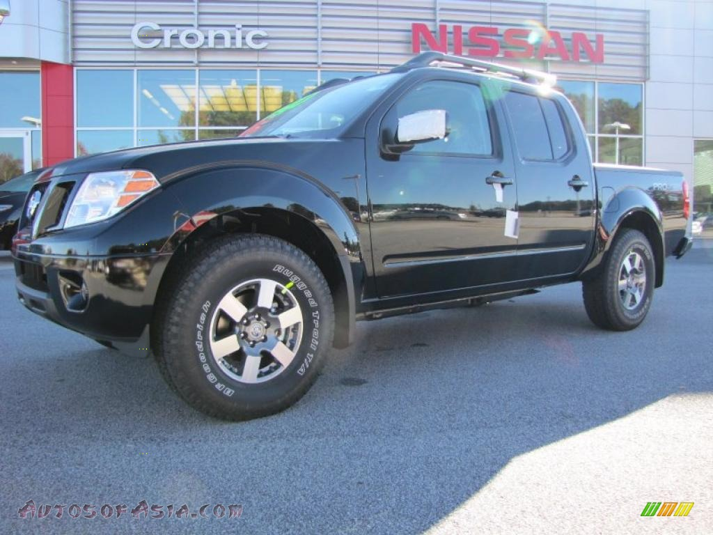 2011 nissan frontier pro 4x crew cab 4x4 in super black 407052 autos of asia japanese and. Black Bedroom Furniture Sets. Home Design Ideas