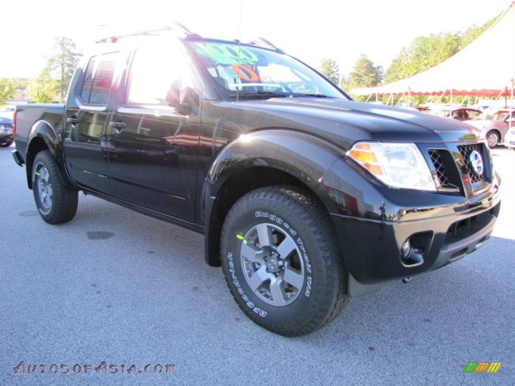 2011 nissan frontier pro 4x crew cab 4x4 in super black photo 7 407052 autos of asia. Black Bedroom Furniture Sets. Home Design Ideas