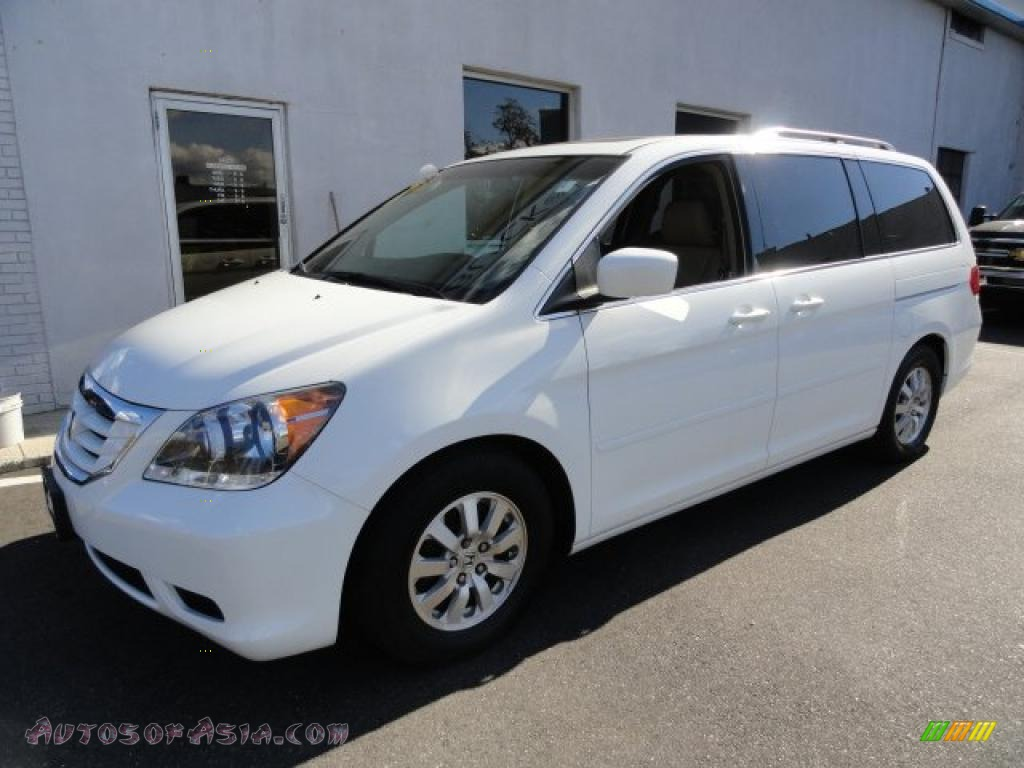 2008 Honda Accord Ex L V6 Sedan 2008 Honda Odyssey EX-L in Taffeta White - 416079 | Autos of Asia ...