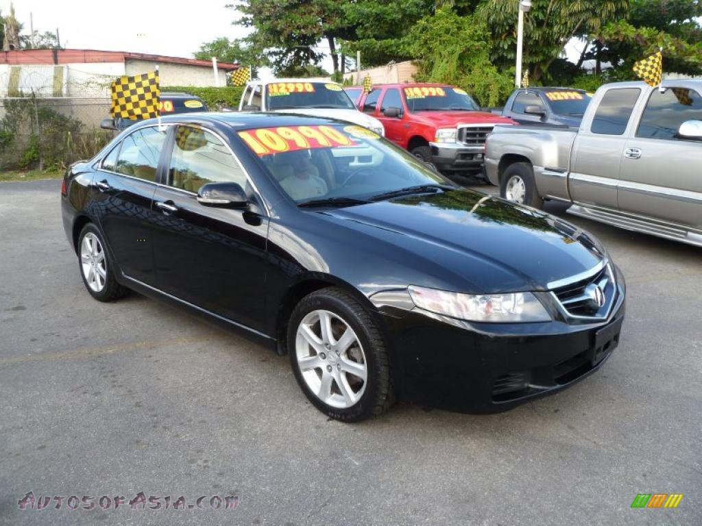 Acura TSX Sedan In Nighthawk Black Pearl Autos Of - Acura tsx 2004 for sale