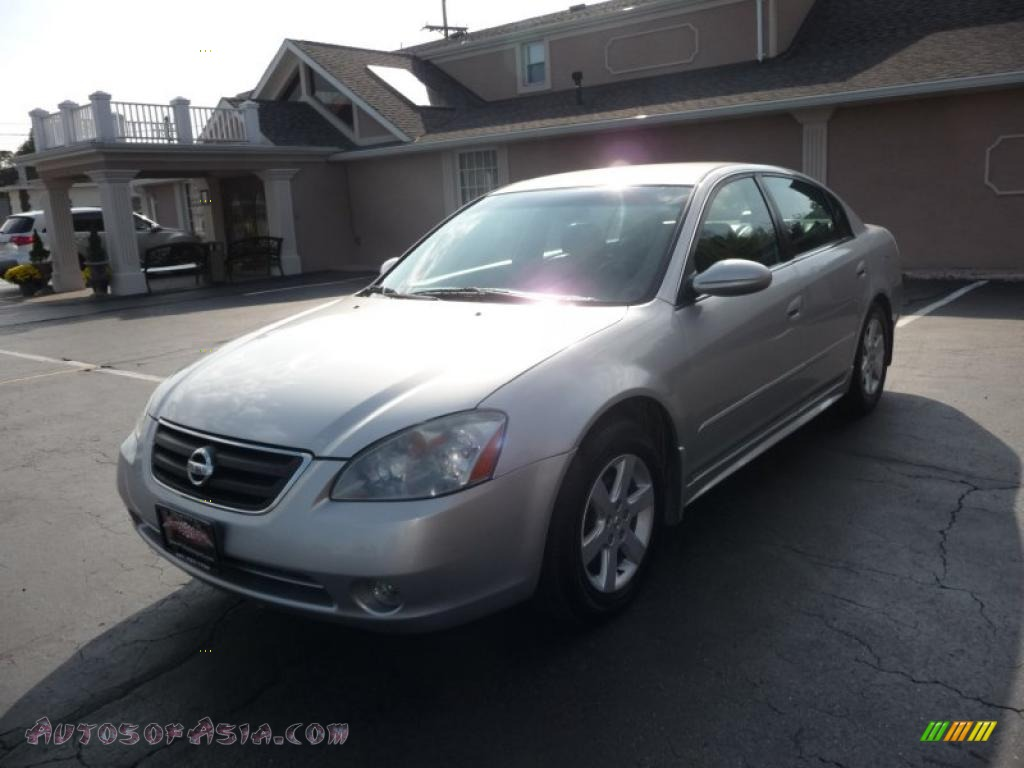 Adam Auto Sales >> 2002 Nissan Altima 2.5 SL in Sheer Silver Metallic - 272415 | Autos of Asia - Japanese and ...