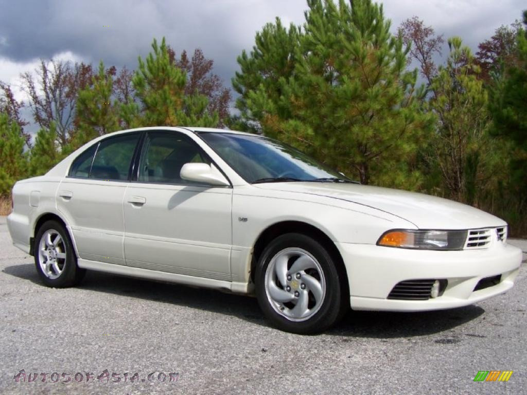 2002 mitsubishi galant gtz in dover white pearl 167267 autos of asia japanese and korean. Black Bedroom Furniture Sets. Home Design Ideas