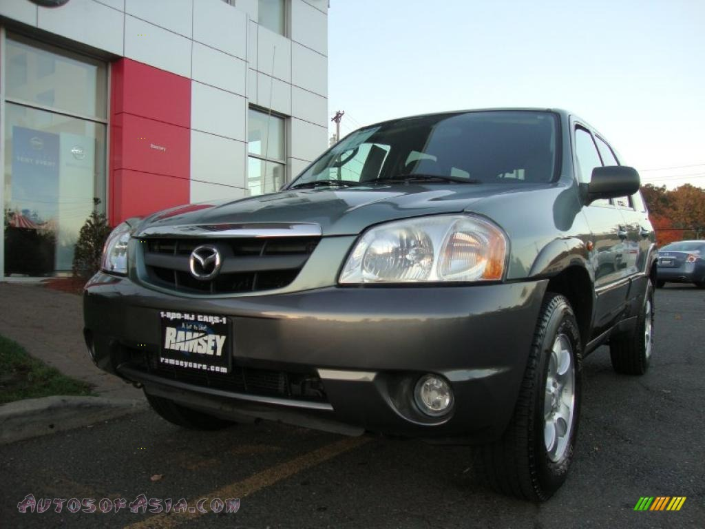 2003 mazda tribute lx v6 in light cypress green metallic. Black Bedroom Furniture Sets. Home Design Ideas