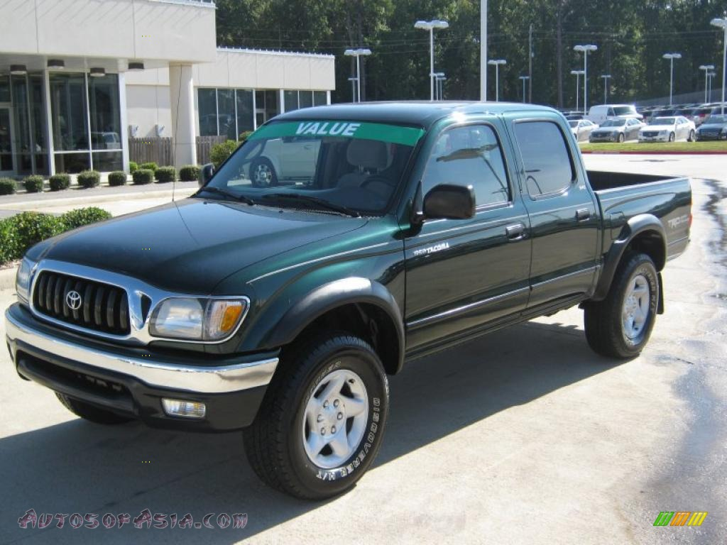 2003 toyota tacoma v6 trd prerunner double cab in imperial jade green mica 284494 autos of. Black Bedroom Furniture Sets. Home Design Ideas