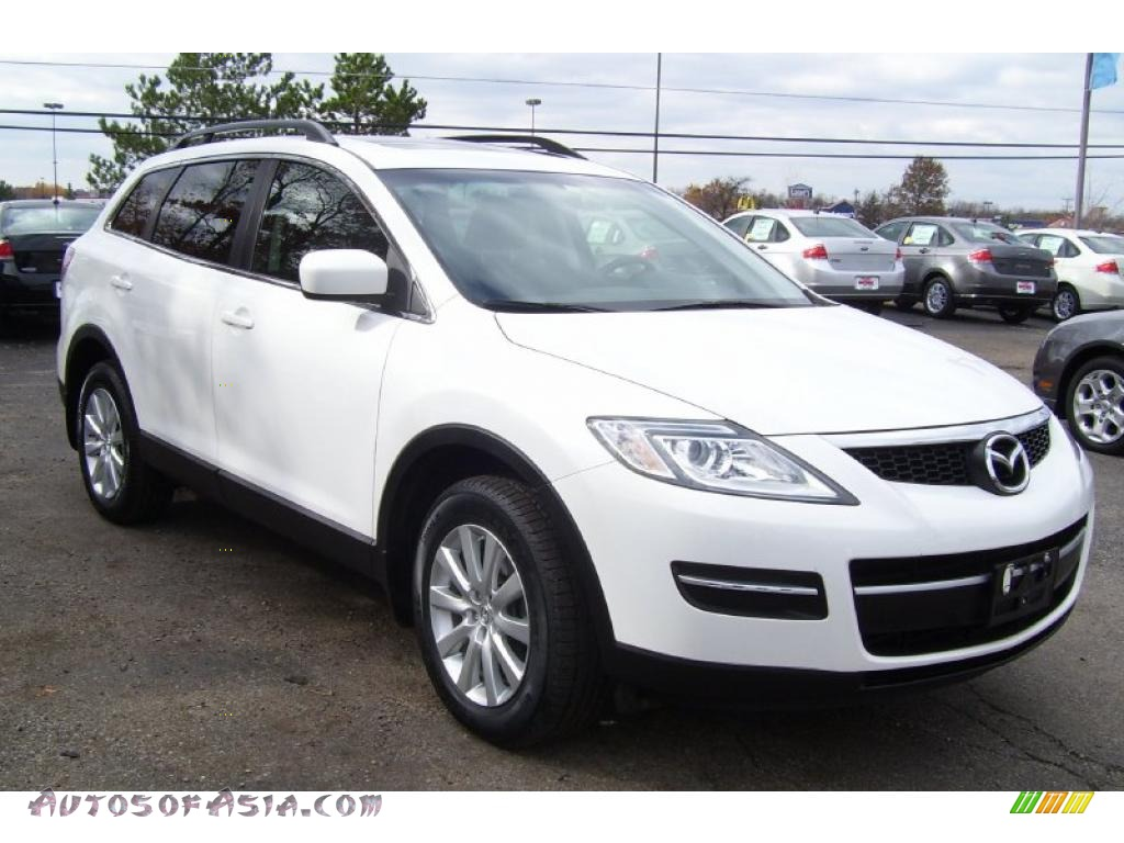 2007 mazda cx 9 sport awd in crystal white pearl mica. Black Bedroom Furniture Sets. Home Design Ideas
