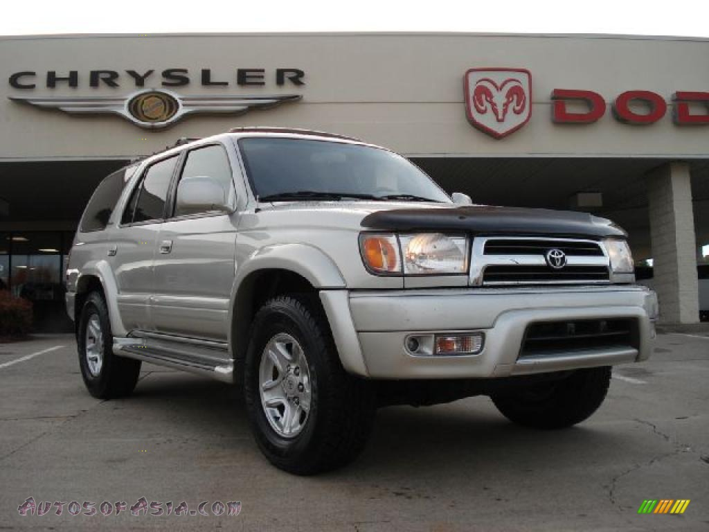 2000 toyota 4runner limited 4x4 in millennium silver metallic 310670 autos of asia. Black Bedroom Furniture Sets. Home Design Ideas