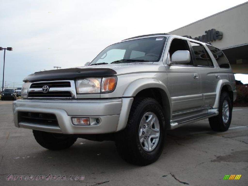 2000 toyota 4runner limited 4x4 in millennium silver metallic photo 7 310670 autos of asia. Black Bedroom Furniture Sets. Home Design Ideas