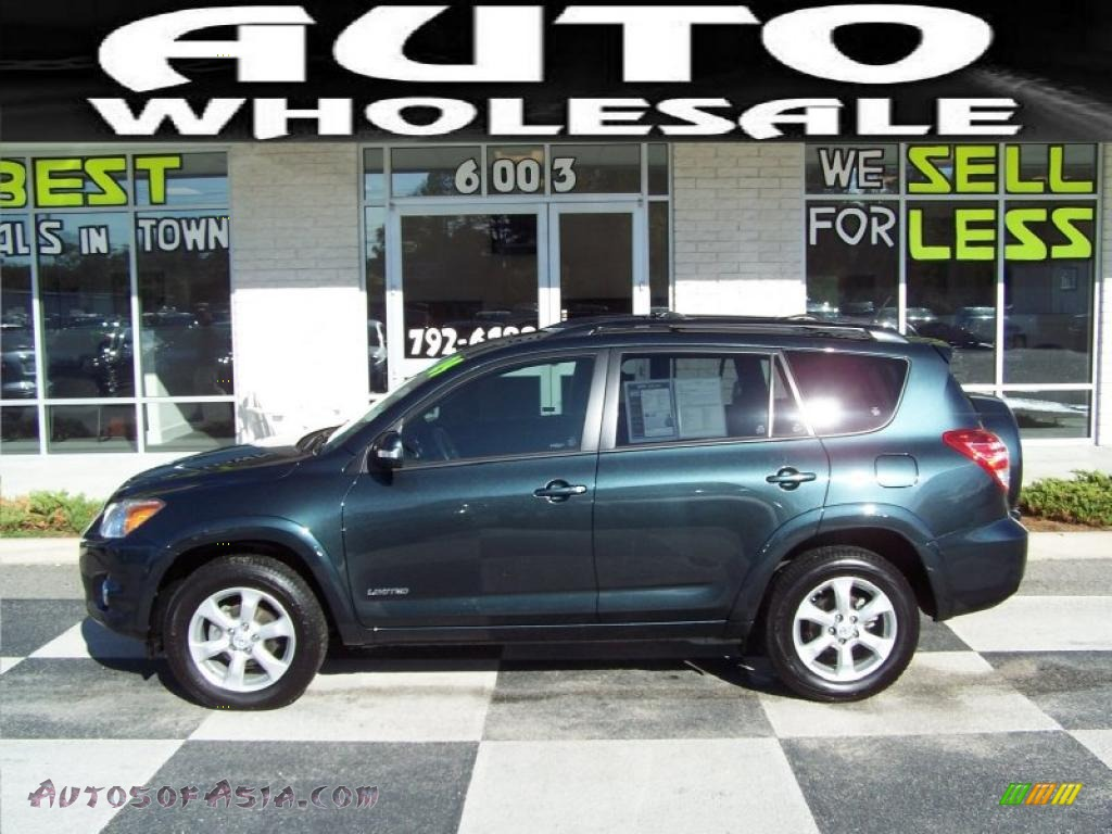 2009 Toyota Rav4 Limited In Black Forest Pearl 004936