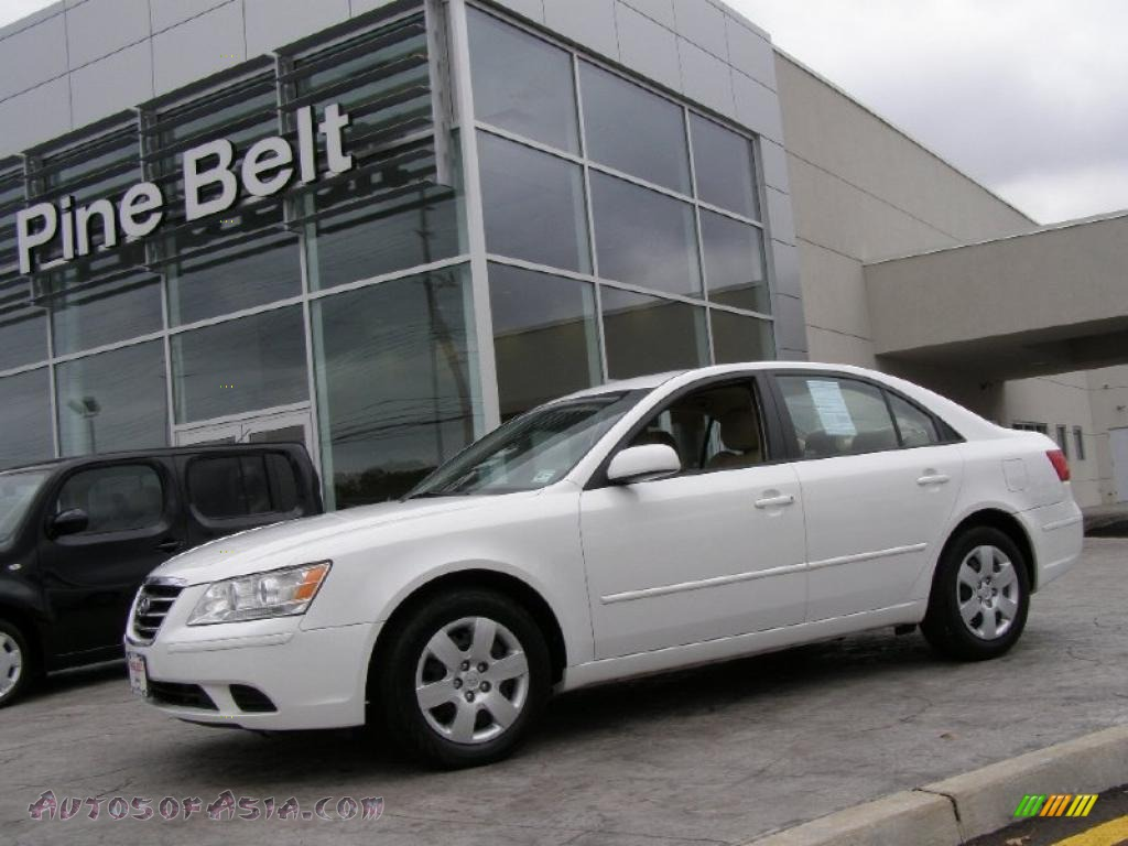 2010 hyundai sonata gls in pearl white 592778 autos of