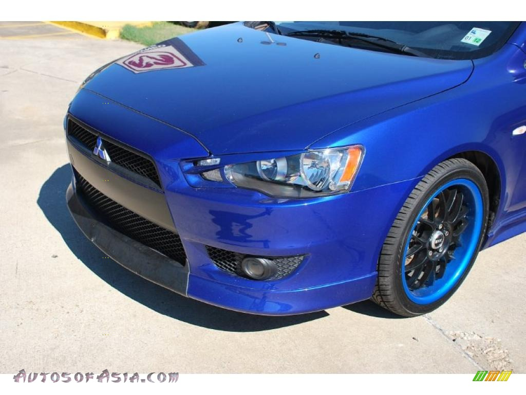 2008 mitsubishi lancer gts in electric blue pearl photo 8 027729 autos of asia japanese. Black Bedroom Furniture Sets. Home Design Ideas