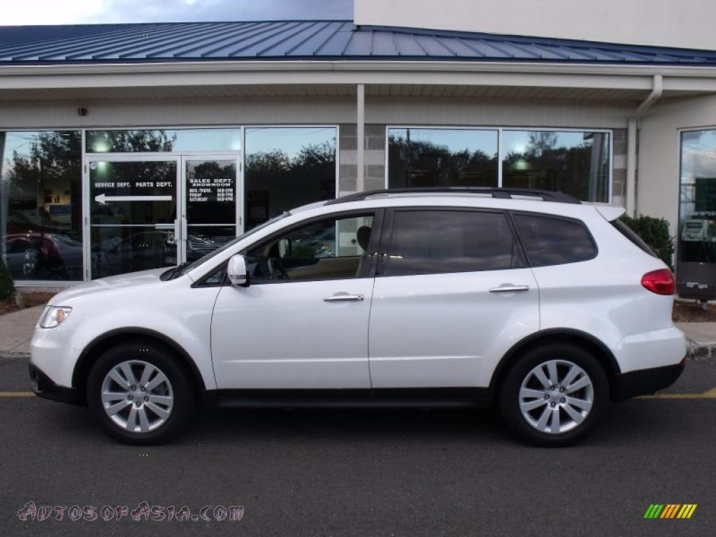 2008 Subaru Tribeca Limited 7 Passenger in Satin White ...
