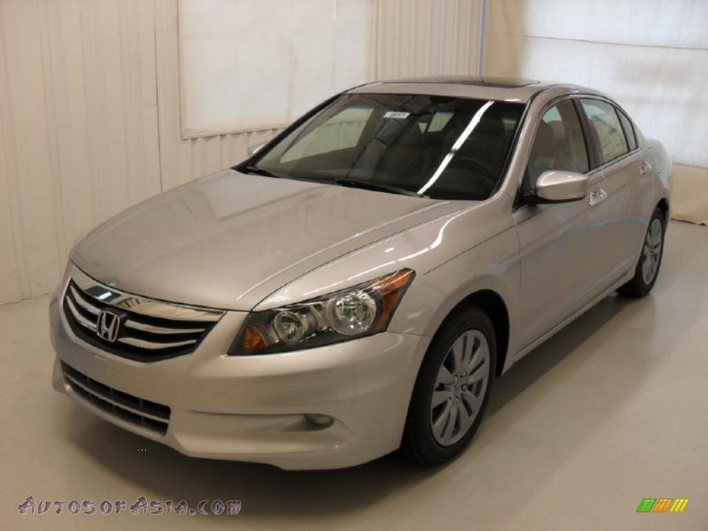 2011 Honda Accord Ex L V6 Sedan In Alabaster Silver
