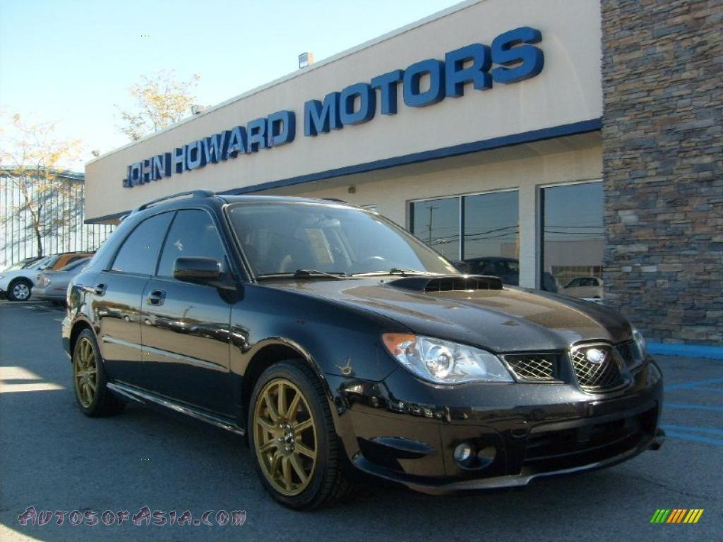 2006 Subaru Impreza WRX Wagon in Obsidian Black Pearl - 818835 ...