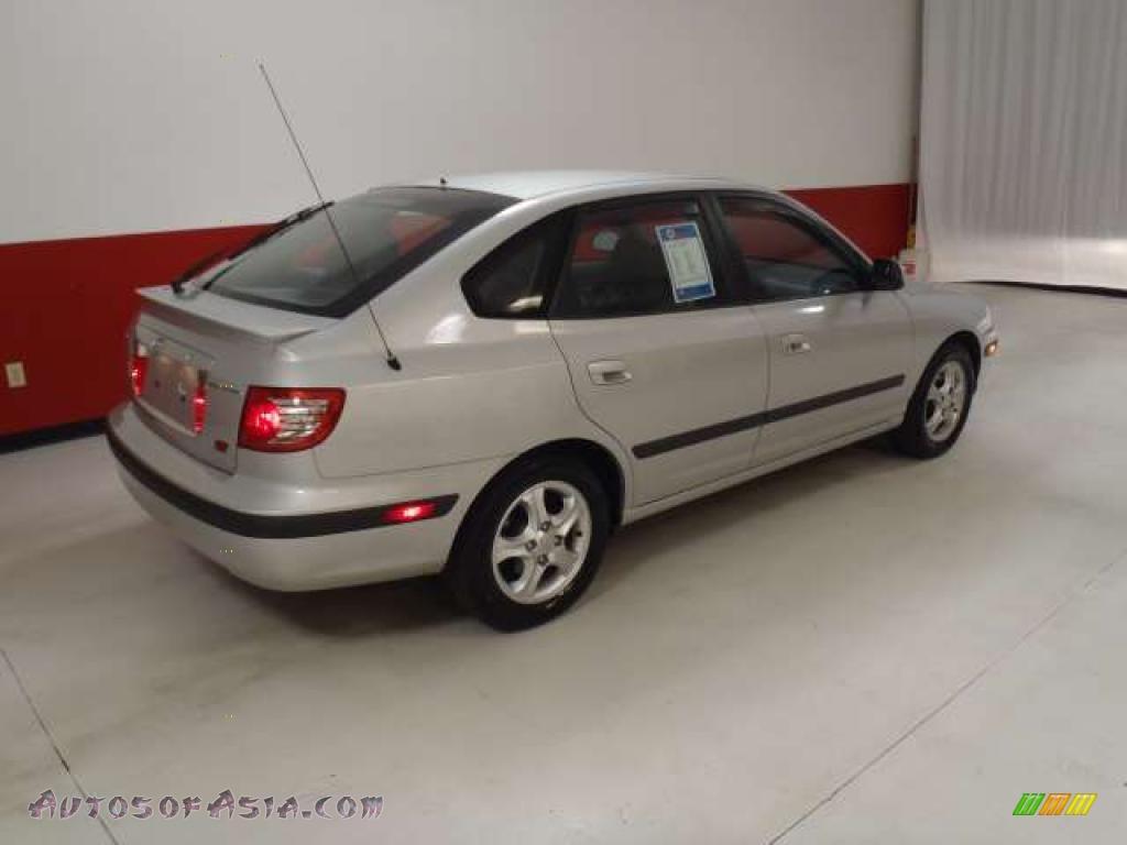 2006 Hyundai Elantra Gt Hatchback In Sterling Silver Photo