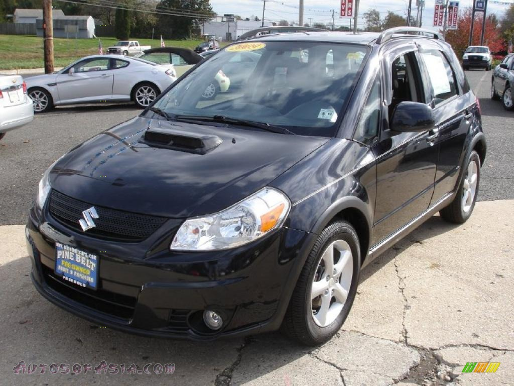 2009 Suzuki Sx4 Crossover Touring Awd In Black Pearl