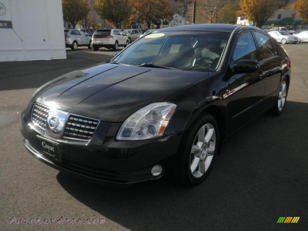 2006 nissan maxima 3 5 se in onyx black 852960 autos. Black Bedroom Furniture Sets. Home Design Ideas