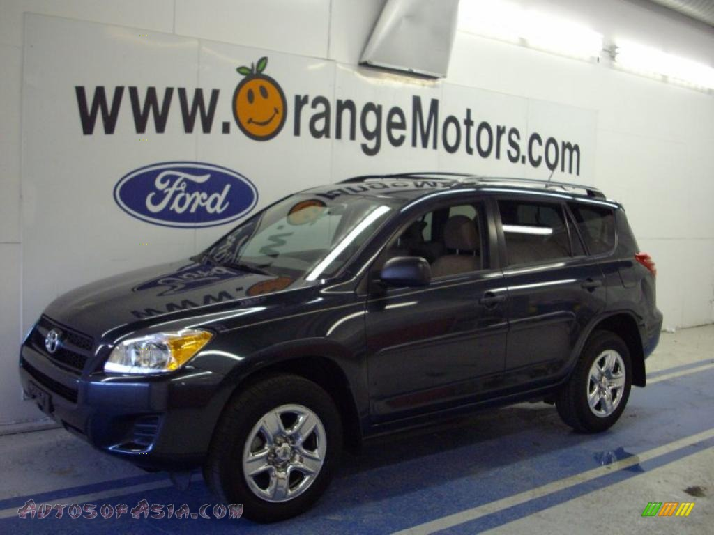 2009 Toyota Rav4 4wd In Black Forest Pearl 023366