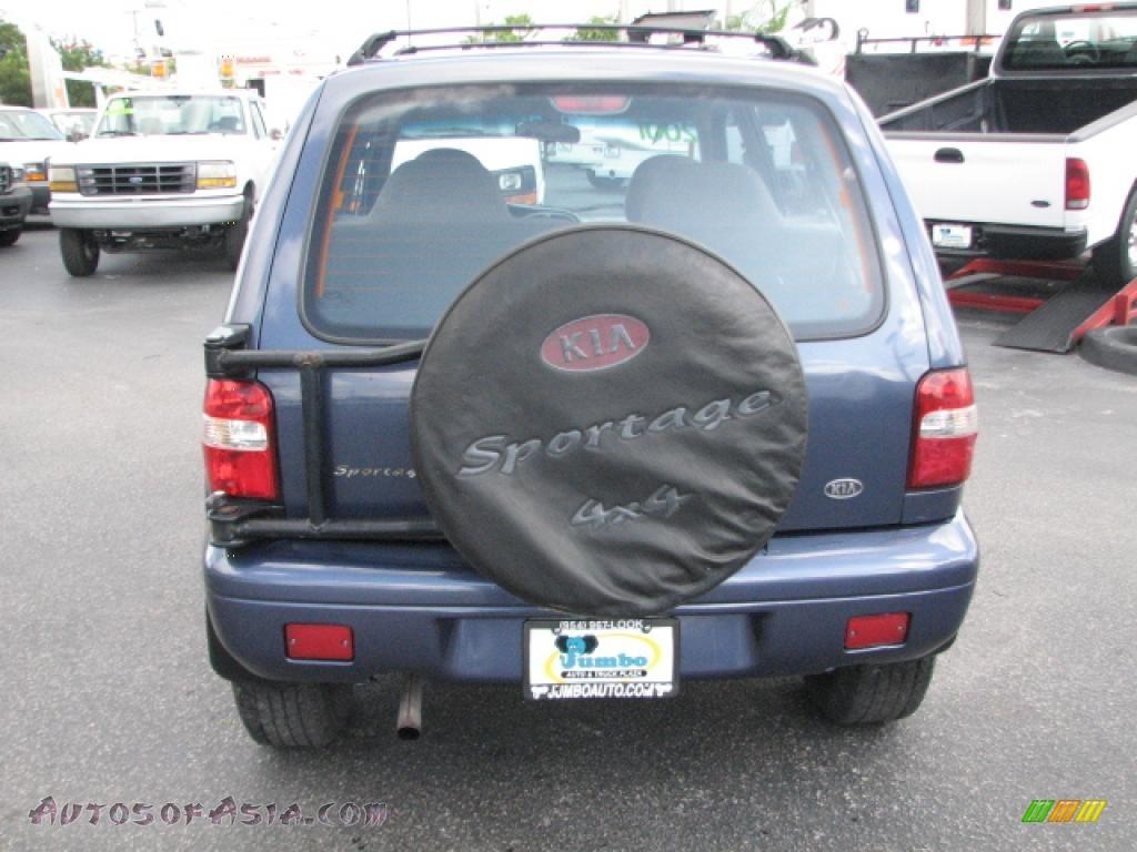 2001 kia sportage ex 4x4 in slate blue photo 7 035166 for 2001 kia sportage window motor