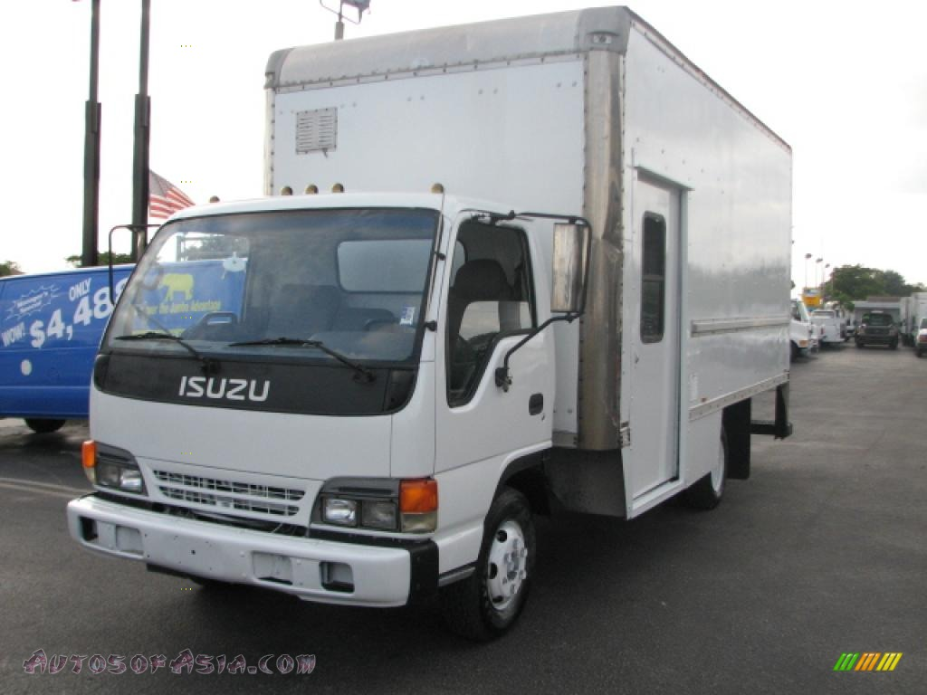 1996 Isuzu N Series Truck NPR Commercial Van in White ...