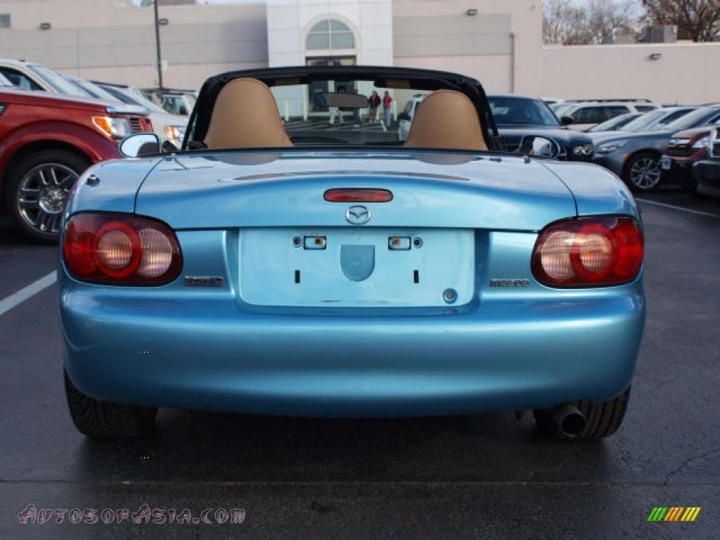 2001 mazda mx 5 miata ls roadster in crystal blue metallic photo 6 209463 autos of asia. Black Bedroom Furniture Sets. Home Design Ideas