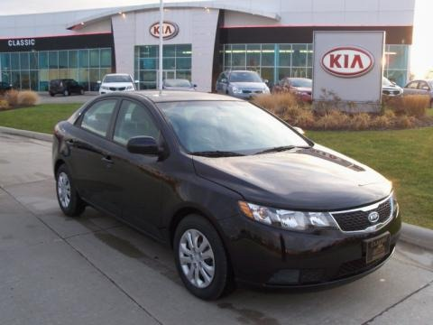 Ebony Black 2011 Kia Forte LX. Ebony Black