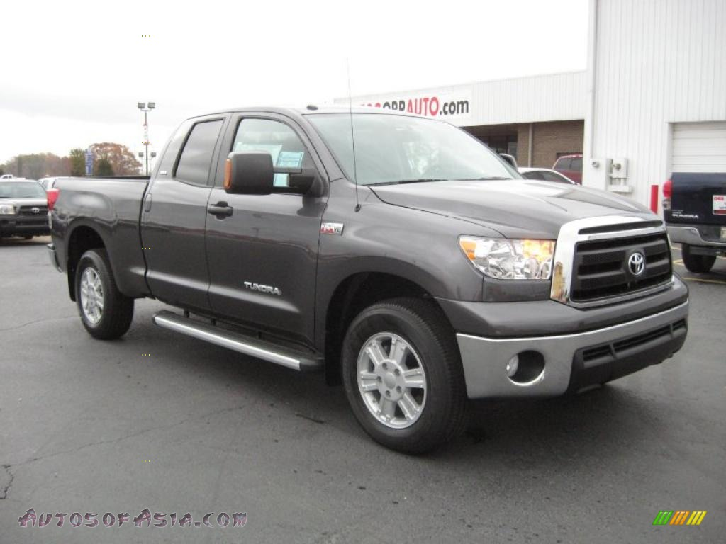2011 Toyota Tundra Sr5 Double Cab 4x4 In Magnetic Gray