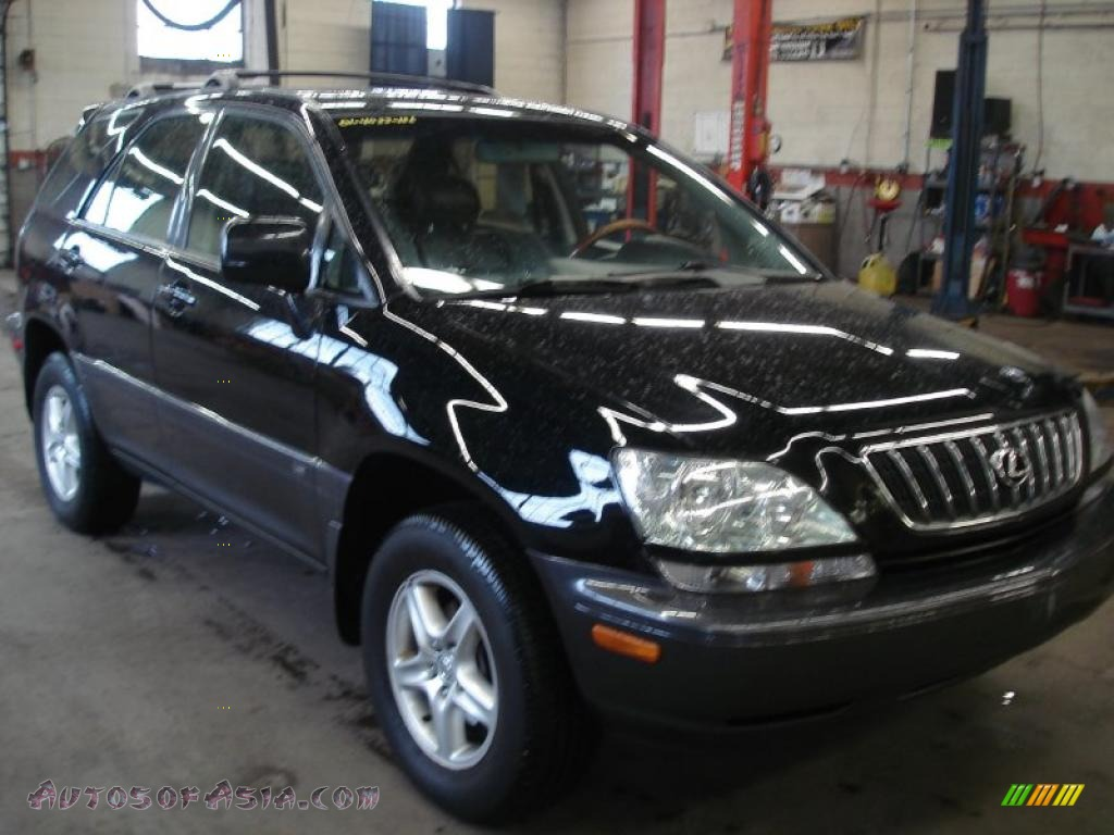 2001 lexus rx 300 awd in black onyx 189040 autos of. Black Bedroom Furniture Sets. Home Design Ideas