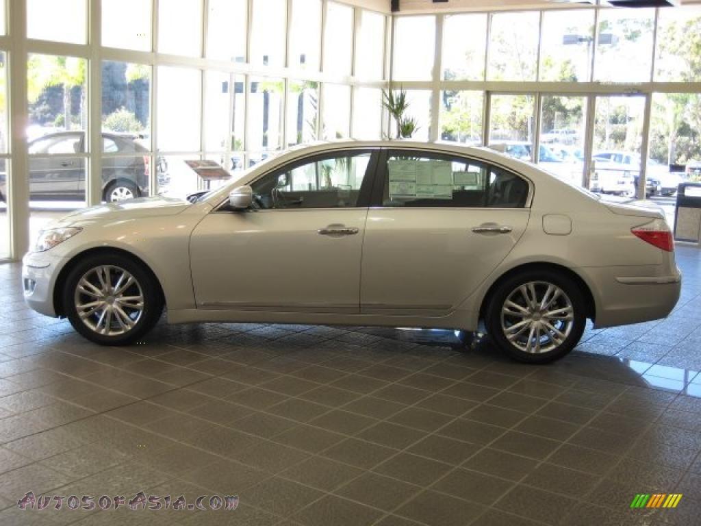 2011 Hyundai Genesis 4 6 Sedan In Platinum Metallic Photo