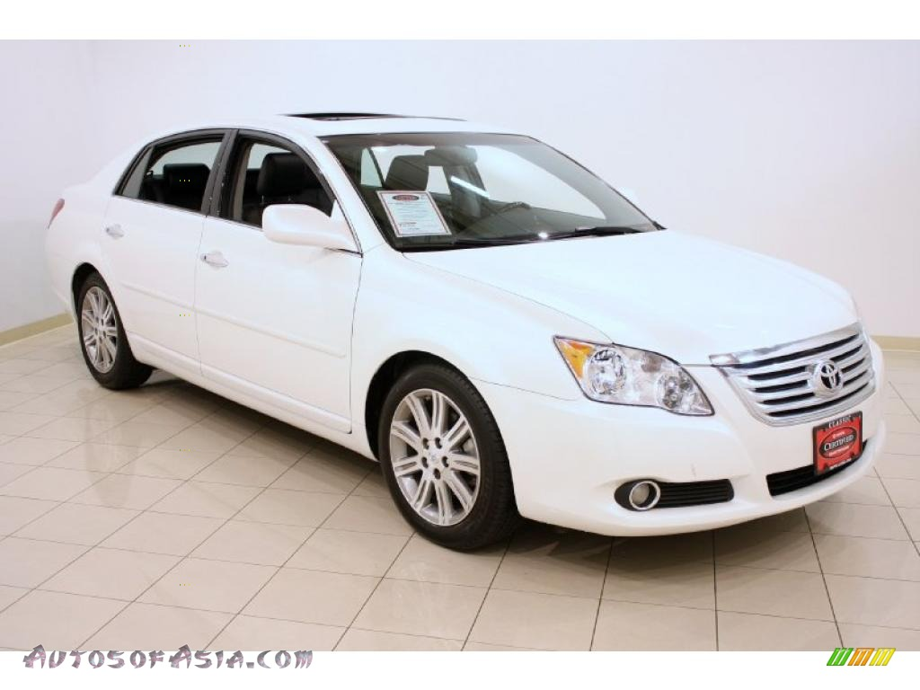 2009 toyota avalon limited in blizzard white pearl 326715 autos of asia japanese and. Black Bedroom Furniture Sets. Home Design Ideas