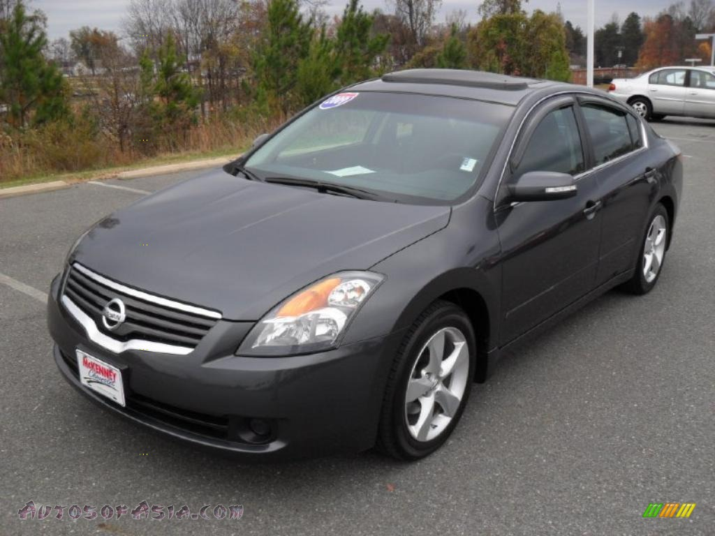2009 nissan altima 3 5 se in dark slate metallic 143905 autos of asia japanese and korean. Black Bedroom Furniture Sets. Home Design Ideas