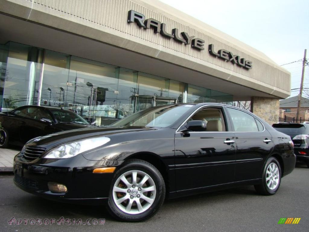 2002 Lexus Es 300 In Black Onyx 018646 Autos Of Asia