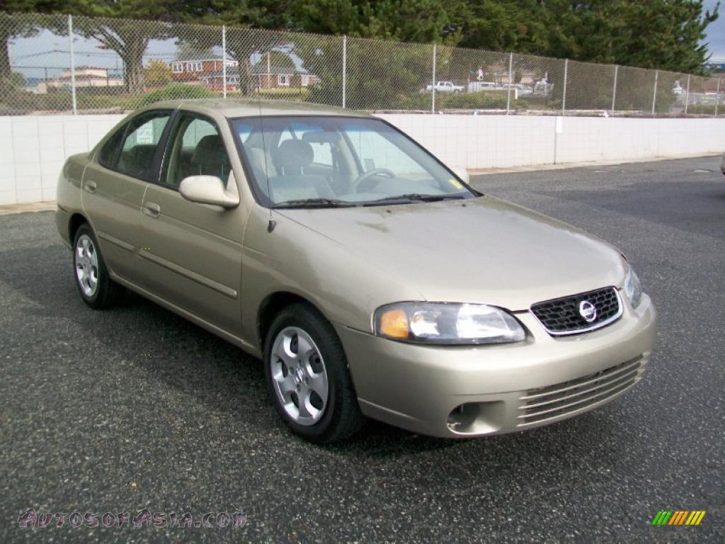2003 nissan sentra gxe in iced cappuccino 715276 autos. Black Bedroom Furniture Sets. Home Design Ideas