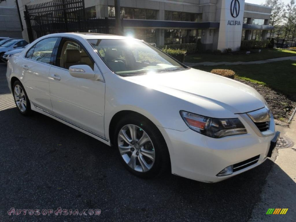 2009 acura rl 3 7 awd sedan in alberta white pearl. Black Bedroom Furniture Sets. Home Design Ideas