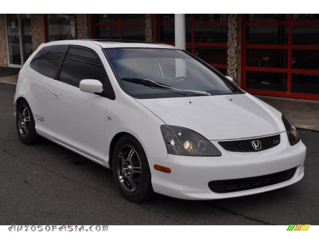 2003 honda civic si hatchback in taffeta white 406889 autos of asia japanese and korean. Black Bedroom Furniture Sets. Home Design Ideas