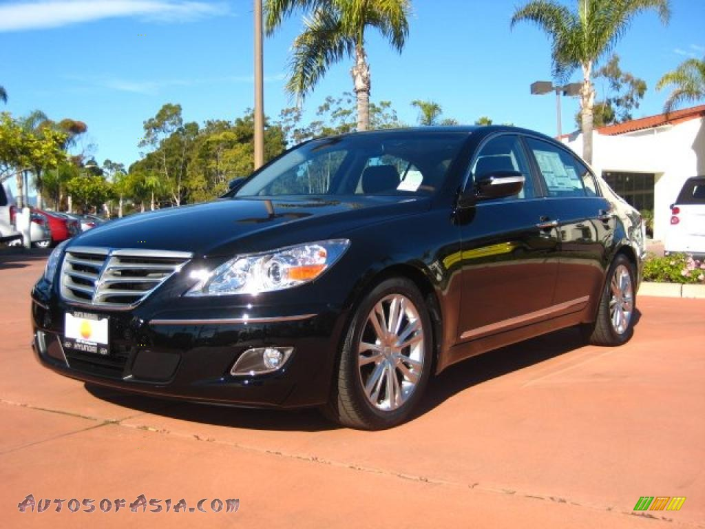2011 Hyundai Genesis 4 6 Sedan In Black Noir Pearl
