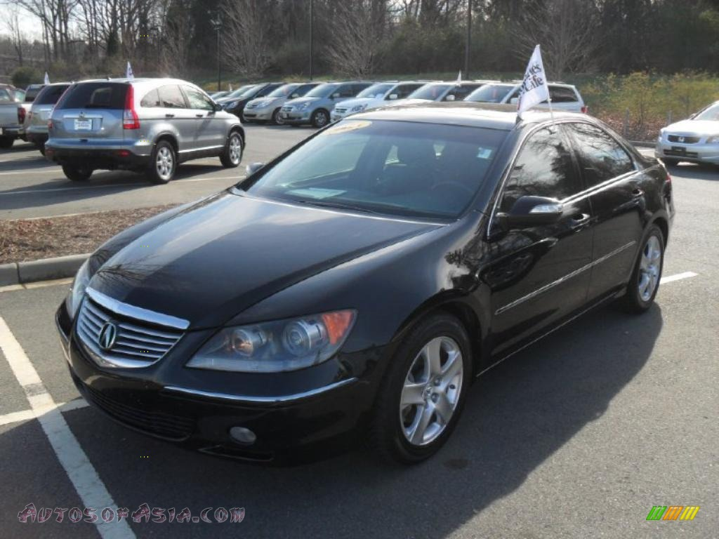 2005 acura rl 3 5 awd sedan in nighthawk black pearl 004466 autos of asia japanese and. Black Bedroom Furniture Sets. Home Design Ideas