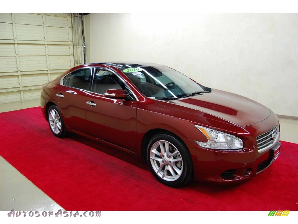 Howard Buick Gmc >> 2010 Nissan Maxima 3.5 SV Sport in Tuscan Sun Red - 831193 | Autos of Asia - Japanese and Korean ...