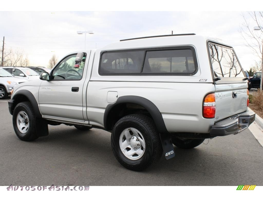 2004 toyota tacoma regular cab 4x4 in lunar mist metallic photo 4 462042 autos of asia. Black Bedroom Furniture Sets. Home Design Ideas