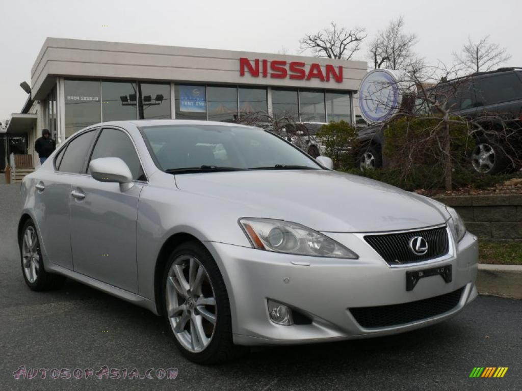 2007 lexus is 350 in tungsten pearl 015691 autos of asia japanese and korean cars for sale. Black Bedroom Furniture Sets. Home Design Ideas