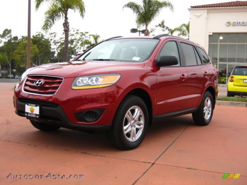 2011 hyundai santa fe gls awd in sonoran red 016075 autos of asia japanese and korean cars. Black Bedroom Furniture Sets. Home Design Ideas