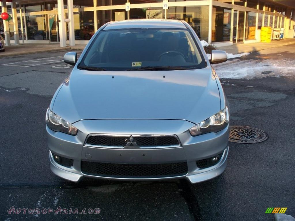 2008 mitsubishi lancer gts in apex silver metallic 000567 autos of asia japanese and. Black Bedroom Furniture Sets. Home Design Ideas