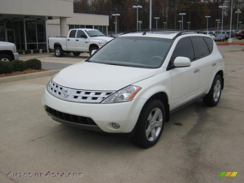2004 nissan murano sl in glacier pearl white - 212738 | autos of