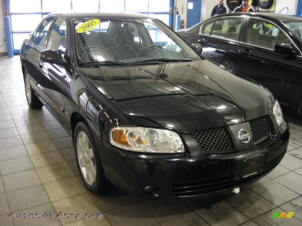 2005 nissan sentra 1 8 s special edition in blackout 488055 autos of asia japanese and. Black Bedroom Furniture Sets. Home Design Ideas